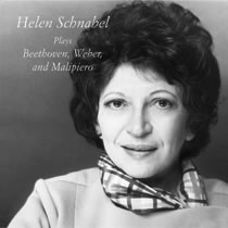 Helen Schnabel Plays Beethoven, Weber, and Malipiero Beethoven: Concerto for Piano and Orchestra, No. 6, Op. 61; Carl Maria von Weber: Sonata in E Minor, Op. 70, No. 4;  G. Francesco Malipiero: Poemi Asolani (Poems of Asolo)
